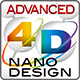 ロゴ:ADVANCED 4D NANO DESIGN